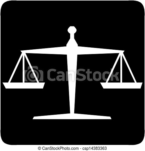 Scales of justice - csp14383363