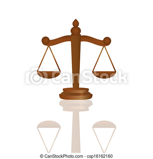 Scales of Justice - csp16162160