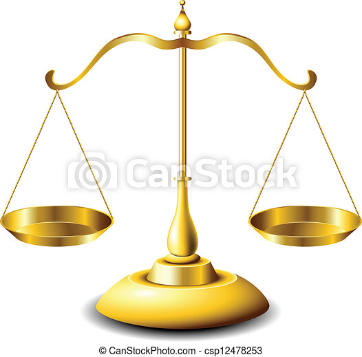 Scales of justice - csp12478253