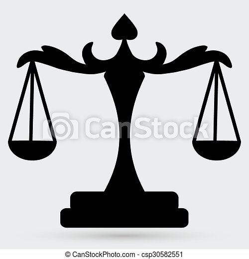 scales of Justice - csp30582551