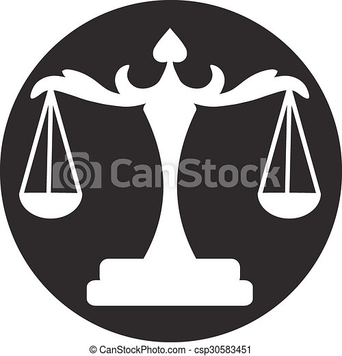 scales of Justice - csp30583451