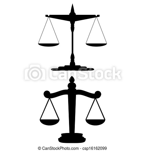 Scales of Justice - csp16162099