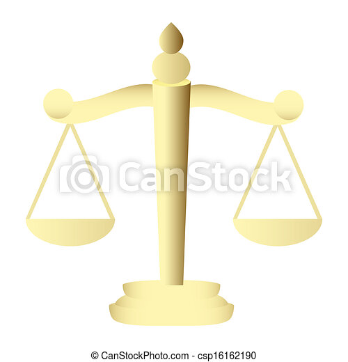 Scales of Justice - csp16162190