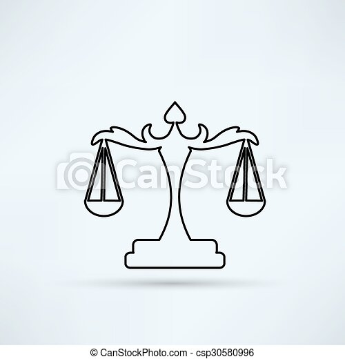 scales of Justice - csp30580996