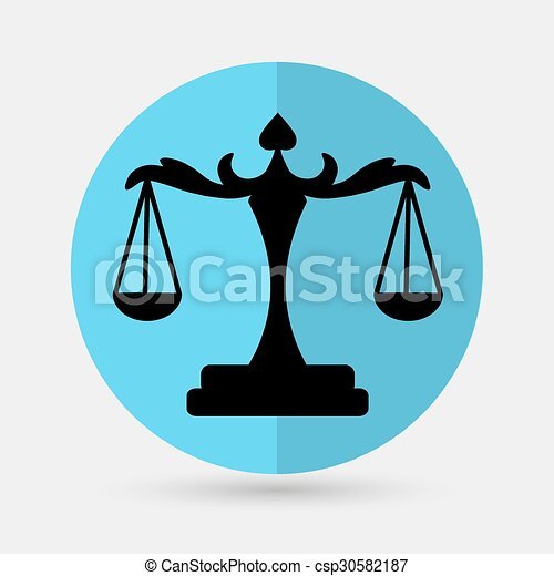scales of Justice - csp30582187