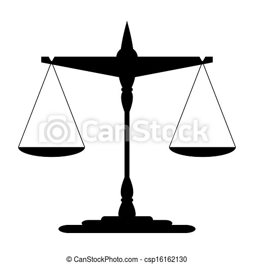 Scales of Justice - csp16162130