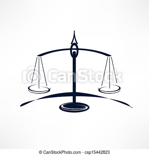 scales of Justice - csp15442823