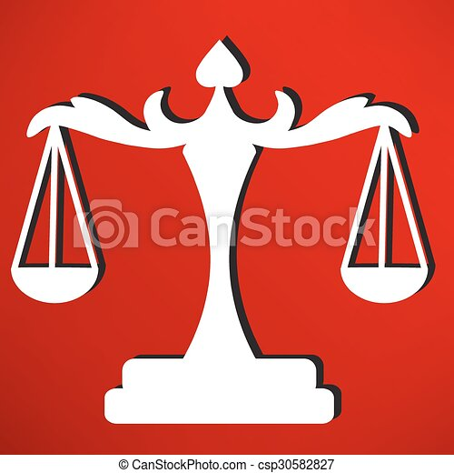 scales of Justice - csp30582827