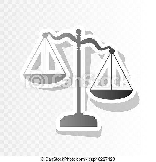 scales of justice sign vector new year blackish icon on transparent background with transition