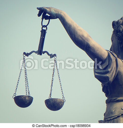 Scales of Justice - csp18098934