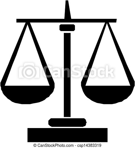 Scales of justice - csp14383319