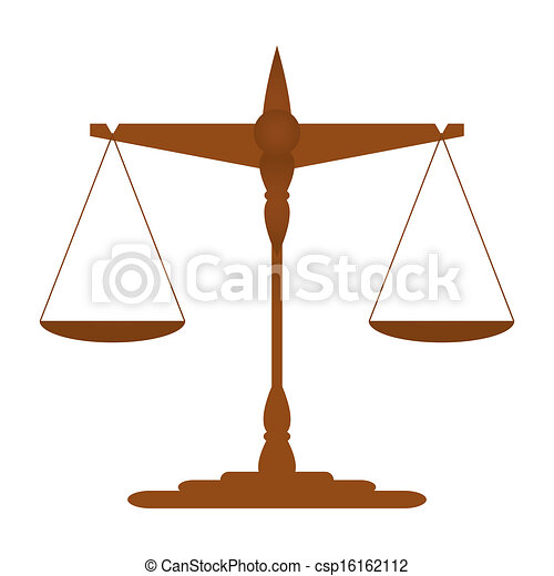 Scales of Justice - csp16162112
