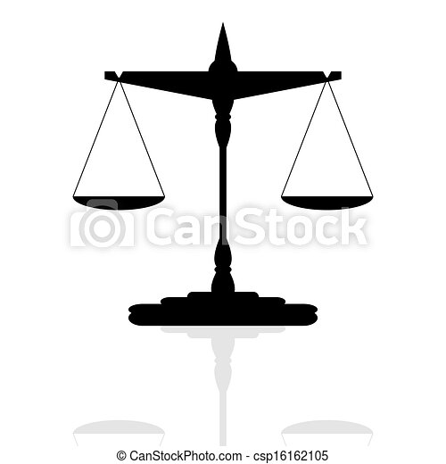 Scales of Justice - csp16162105