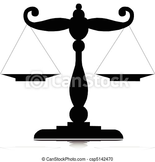 scales one vector silhouettes - csp5142470