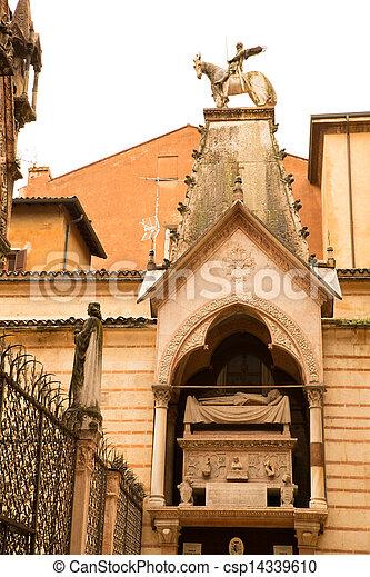 Scaliger Tombs in Verona - csp14339610