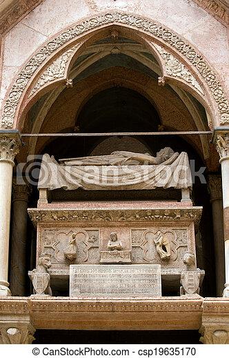 Scaliger Tombs - csp19635170