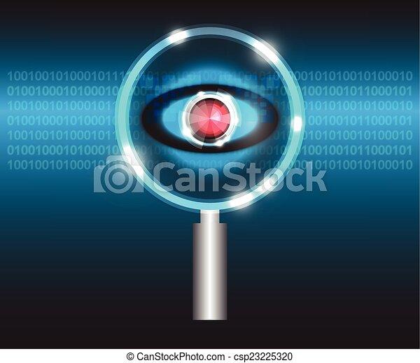 Scan virus - csp23225320