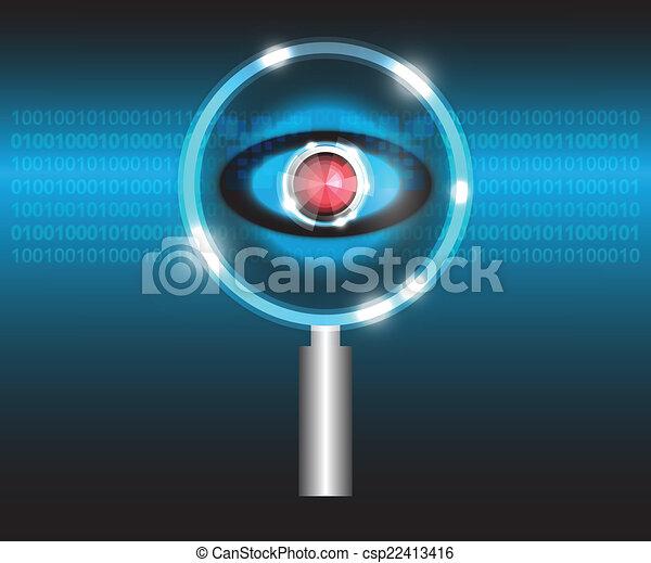 Scan virus - csp22413416