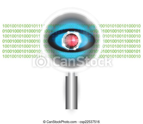 Scan virus - csp22537516