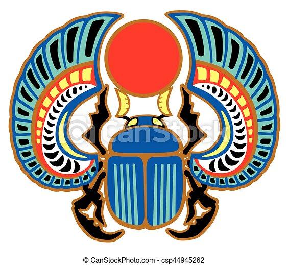 Scarab Egyptian Beetle Egyptian Scarab Beetle Sacked Bug A Symbol
