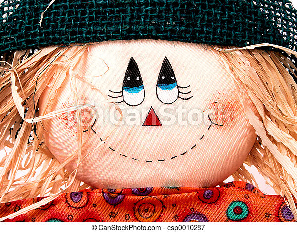 Scarecrow Close-up - csp0010287