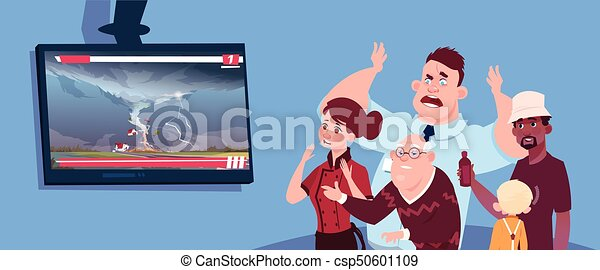 Scared People Clipart