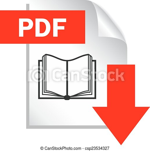 scaricare, pdf, documento - csp23534327