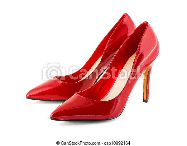 scarpe, rosso - csp10992164
