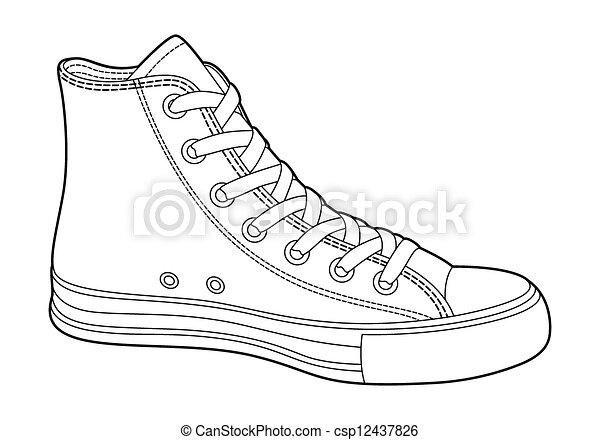 scarpe tennis - csp12437826