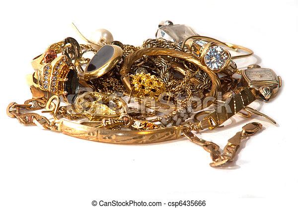 scarto, oro - csp6435666