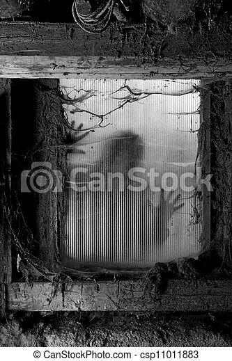Scary halloween background - csp11011883