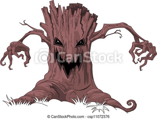Scary tree - csp11072376