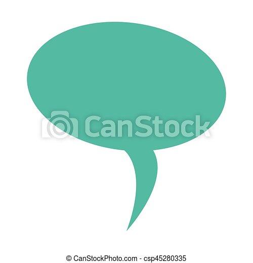 scatola, balloon, disegno, colorito, dialogo - csp45280335