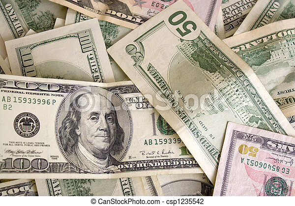 Scattered Cash - csp1235542