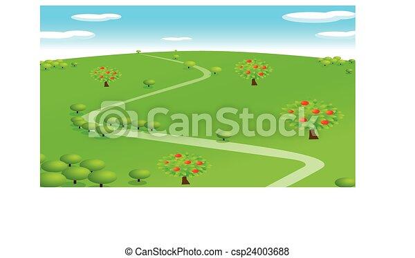 scena rurale - csp24003688