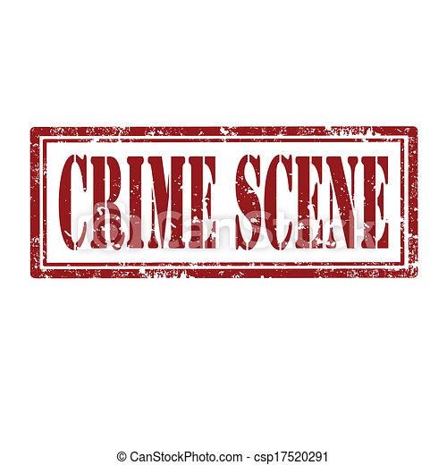 Escena del crimen - csp17520291