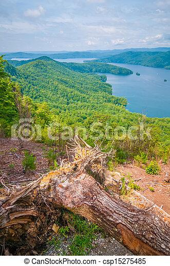 scenery around lake jocasse gorge - csp15275485