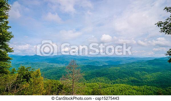 scenery around lake jocasse gorge - csp15275443