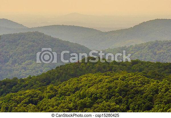 scenery around lake jocasse gorge - csp15280425