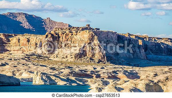 scenery near lake powell arizona - csp27653513
