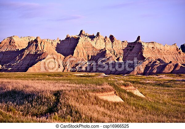 Scenic Badlands - csp16966525