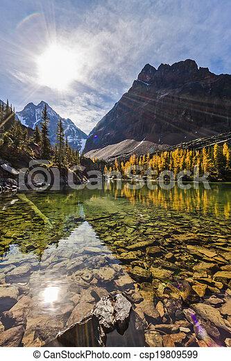 Scenic Lake Oesa - csp19809599