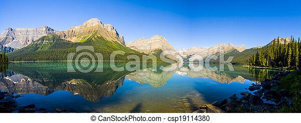Scenic Mountain Lake - csp19114380