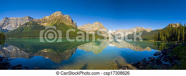 Scenic Mountain Lake - csp17308626