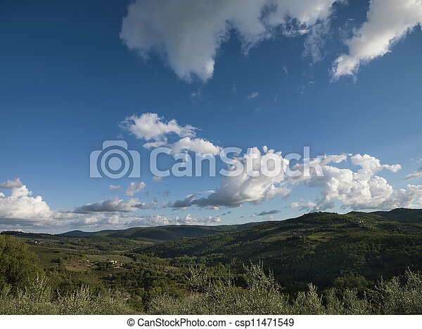 scenic view of a landscape - csp11471549