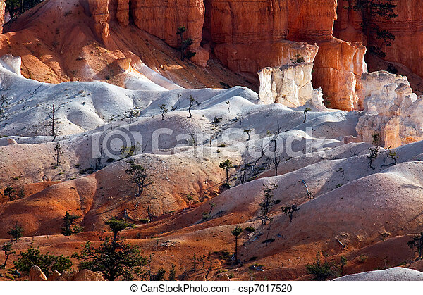 Scenic view of Bryce Canyon Southern Utah USA - csp7017520