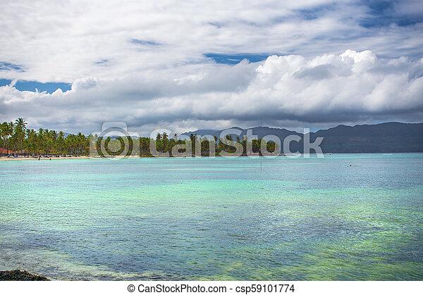 scenic view over the atlantic ocean - csp59101774