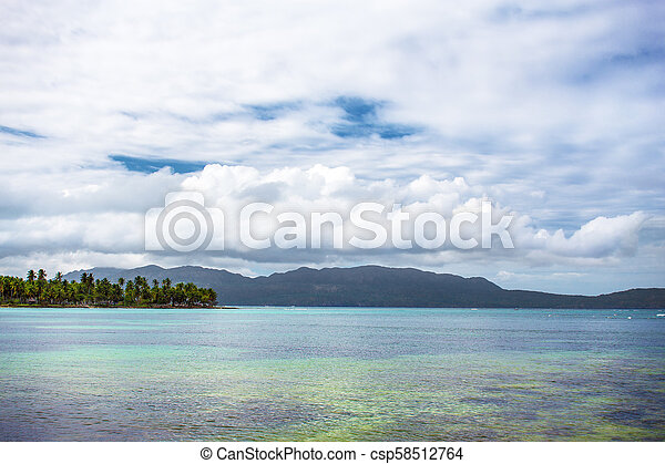 scenic view over the atlantic ocean - csp58512764