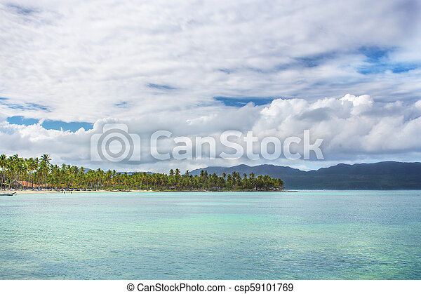 scenic view over the atlantic ocean - csp59101769