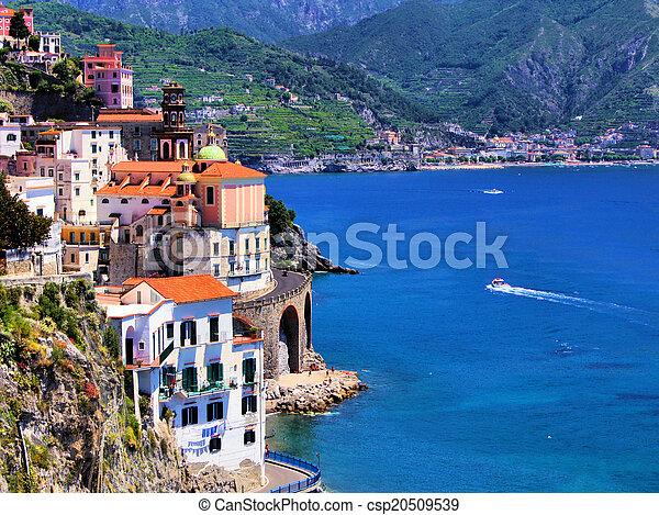 scenico, costa amalfi - csp20509539